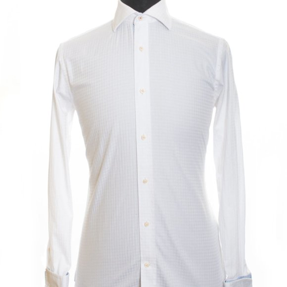 Ted Baker Endurance White French Cuff Shirt 15.5